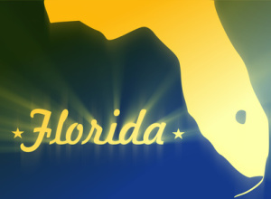 florida map silhouette
